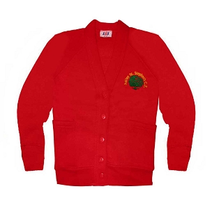Astley St Stephens C.E. Red Cardigan