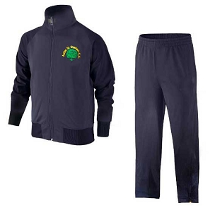 Astley St Stephens Full Navy Blue Tracksuit - with free initials