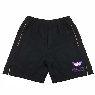 Atherton Community School Boys Sports Shorts - From £10.50 - with free initials