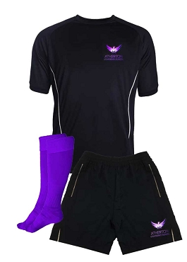 Atherton Community  School Boys Sports Full Kit - Top, Shorts and Socks - with free initials