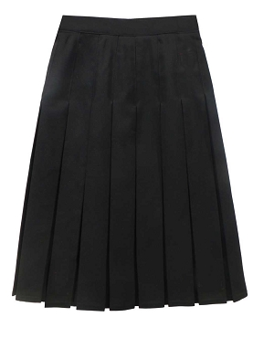 Atherton Community School Girls Box Pleated Skirt