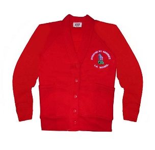 Atherton St Georges Red Cardigan