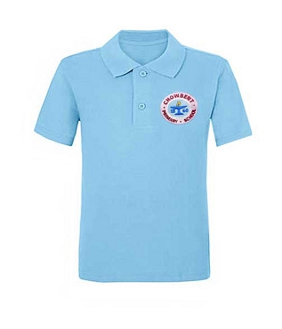 Chowbent Primary School Light Blue Unisex Polo Shirt