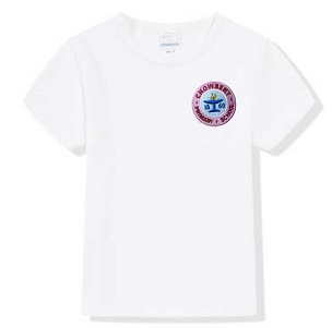 Chowbent Primary School White P.E , T-Shirt