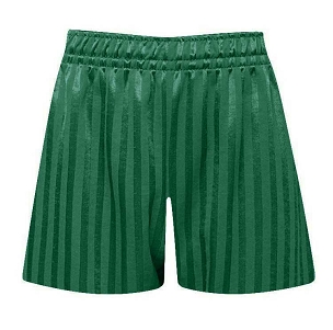 St Philips C of E Primary School Green P.E. Shorts - with free initials