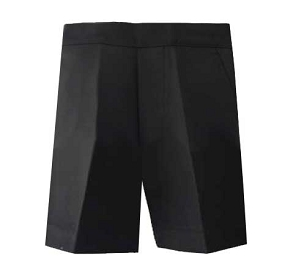 Boys Half Elasticated Pull up Grey Shorts