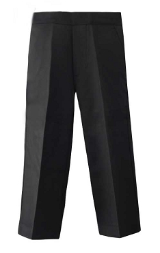 Boys Half Elasticated Pull up Grey Trousers - From £5.00