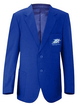 Harrop Fold Boys Blue School Blazer - From £30.00