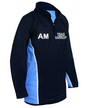 Harrop Fold High School Boys Rugby Sports Top  - with free initials