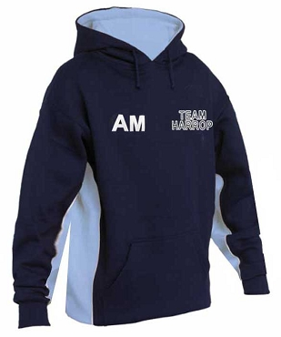 Harrop Fold High School Girls Hoodie Outside Hoodie Sports Top - with free initials