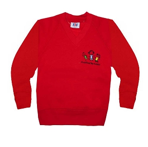 Hindsford Day Nursery Red Jumper