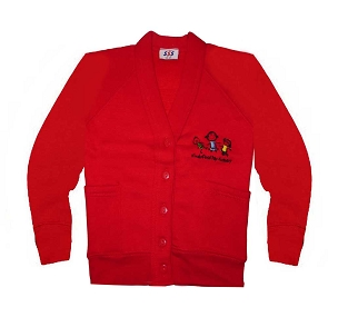 Hindsford Day Nursery Red Cardigan