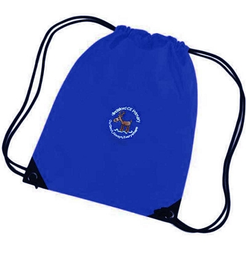 Hindsford C of E Primary School Royal Blue P.E. Bag