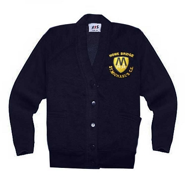 Howe Bridge St Michaels C.E Primary School Navy Blue Cardigan