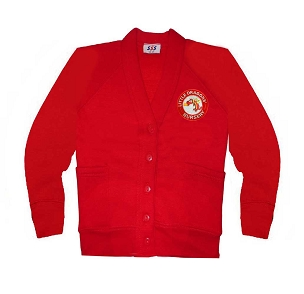 Little Dragons Nursery Red Cardigan