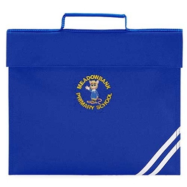 Meadowbank  Primary School Blue Small Book Bag