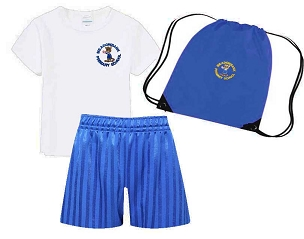 DEAL - Meadowbank Primary School Full P.E Kit with Pump Bag - with free initials  -DEAL
