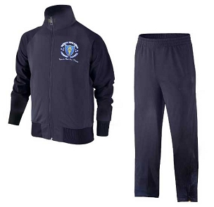North Walkden Full Navy Blue Tracksuit - with free initials