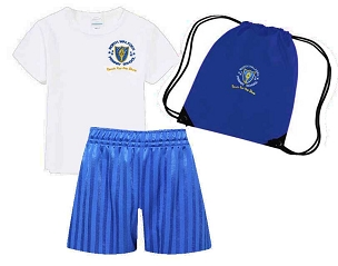 DEAL - North Walkden Primary School Full P.E. Kit and Pump Bag - with free initials- DEAL