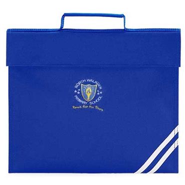 North Walkden Primary School Blue Small Book Bag