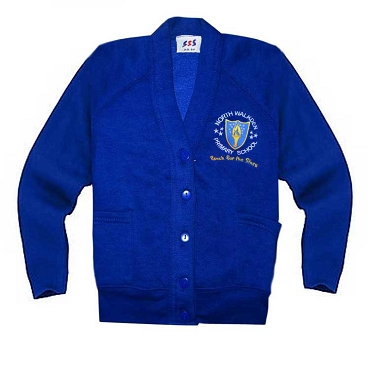 North Walkden Primary School Blue Cardigan