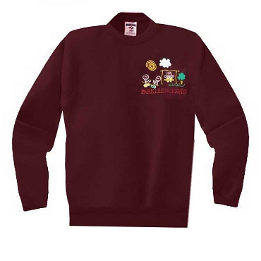 Parklee Community Nursery Burgundy Jumper