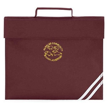 Parklee Primary School Burgundy Small Book Bag