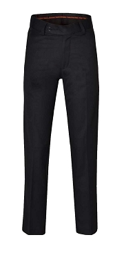 Boys Slim Fit Black School Trousers - From 12.99