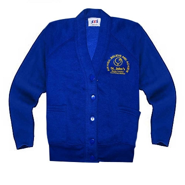 St Johns Mosely Common Royal Blue Cardigan