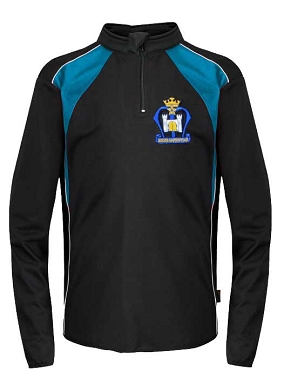St Marys High School 1/4 Zip Unisex Sports Jacket - with free initials
