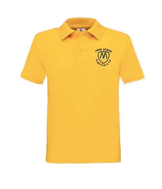 St Michaels Howe Bridge Primary School Unisex Gold Polo Shirt