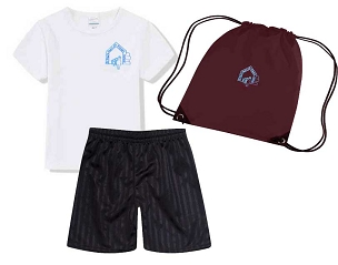 DEAL - St Pauls Peel  Primary School Full P.E. Kit with Pump Bag - with free initials  DEAL