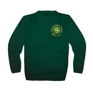 St Philips C.E. Primary School Green Jumper