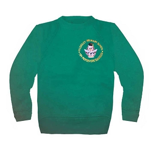 Tyldesley Primary School Green Jumper