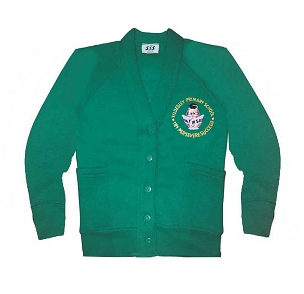 Tyldesley Primary School Green Cardigan