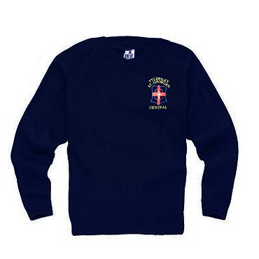 Tyldesley St Georges Navy Blue Jumper