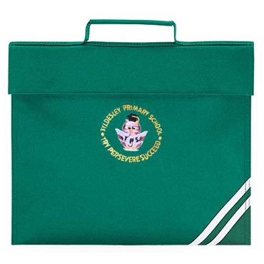Tyldesley Primary School Green Small Book Bag