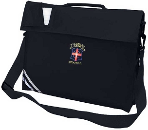 Tyldesley St Georges School Navy Blue Large Book Bag
