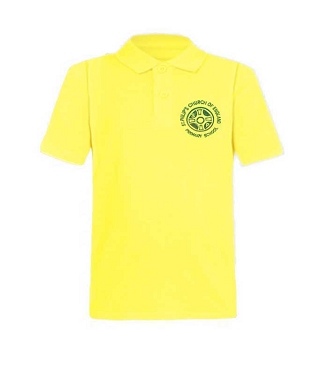 St Philips C of E Primary School Nursery Unisex Lemon Polo Shirt