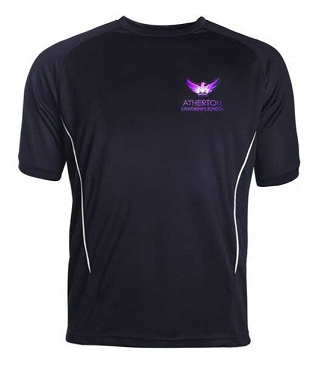 Atherton Community School Boys Sports Top - From £10.50 - with free initials