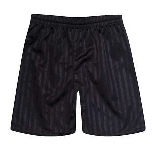 St Pauls Peel  Primary School Black P.E. Shorts - with free initials