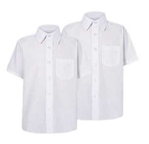 Fred Longworth Boys Short Sleeved Shirt Pack of Two - From £10.00