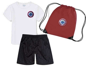 DEAL - Chowbent  Primary School Full P.E. Kit with Pump Bag- DEAL