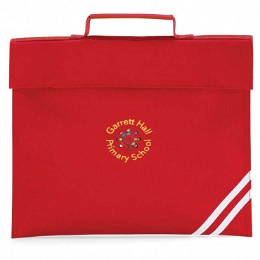 Garrett Hall Primary School Small Red Book Bag