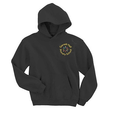 Garrett Hall School Black Sports Hoodie