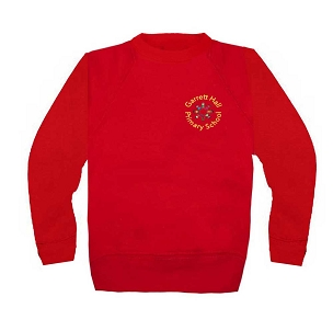 Garrett Hall School Red Jumper
