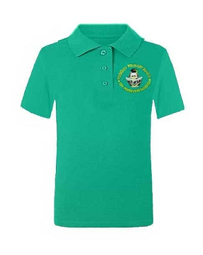 Tyldesley Primary School Unisex Green Polo Shirt
