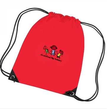 Hindsford Day Nursery Extra Clothes Bag Red