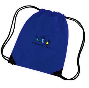 Hindsford Day Nursery Extra Clothes Bag Blue