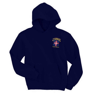 Tyldesley St Georges Primary School Navy Unisex Sports Hoodie